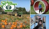 Stokoe Farm - Wheatland: $8 for Two Tickets to the Pumpkin Patch and Harvest Fest at Stokoe Farms ($16 Value)