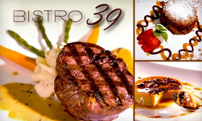 Bistro 39 - Alhambra: $15 for $30 Worth of Casual French Cuisine and Drinks at Bistro 39
