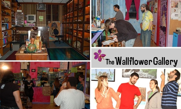 The Wallflower Gallery - Downtown Miami: $9 for 3 Admissions to Any Event & 10% Off Art Store at Wallflower Gallery