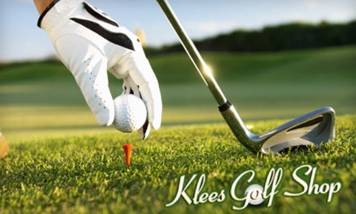 Klees Golf Shop - Beverly: $50 for a Custom Driver Fitting with Launch Monitor at Klees Golf Shop ($100 Value)