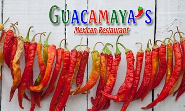 Guacamaya's Mexican Restaurant - Historic Bartlett: $7 for $15 Worth of Mexican Fare at Guacamaya's Mexican Restaurant
