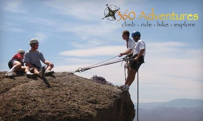 360 Adventures - South Mountain: $147 for a Two-Day Outdoor Rock-Climbing Introduction Class with 360 Adventures ($295 Value). Choose from Six Scheduling Options.
