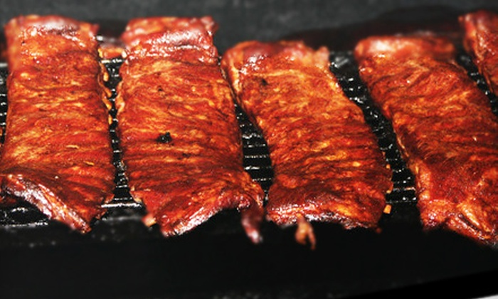 Reggi's BBQ & Wings - Multiple Locations: $6 for $12 Worth of Barbecue Fare at Reggi's BBQ & Wings. Two Locations Available.