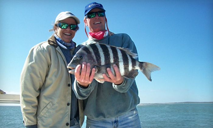 Ambush Inshore Charters - Harleston Village: $225 for a Half-Day Fishing Charter for Up to Four from Ambush Inshore Charters ($450 Value)