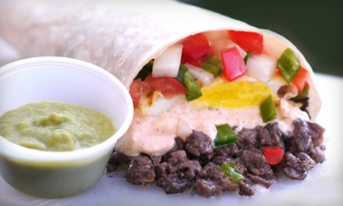Wow Silog Truck - Downtown San Jose: $10 for a Filipino-Mexican Fusion Meal for Two from Wow Silog Truck ($21 Value)