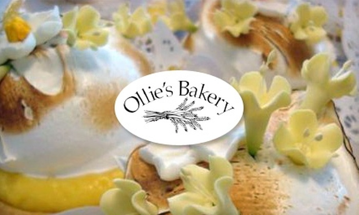 Ollie's Bakery - Multiple Locations: $5 for $10 Worth of Gourmet Baked Goods and More at Ollie's Bakery