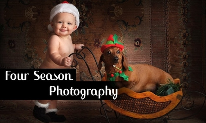 "Four Seasons Photography - Brookwood: $69 for an Hourlong In-Studio Photo Session, One 11""x14"" Print, and Two 5""x7"" Prints from Four Seasons Photography ($430 Value)"