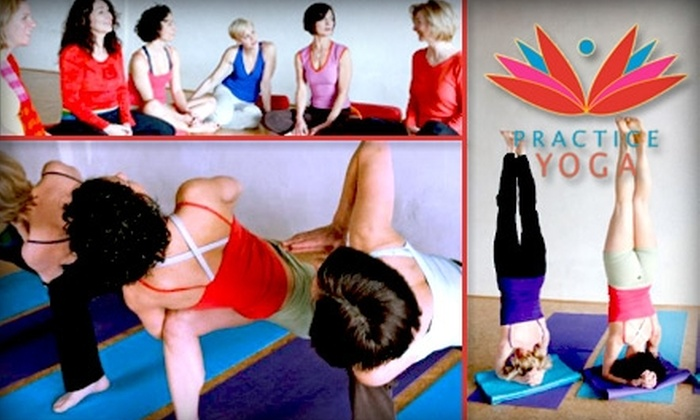 Practice Yoga - Grosse Pointe: $40 for 60 Days of Unlimited Yoga Plus an Additional Week at Practice Yoga ($99 Value)