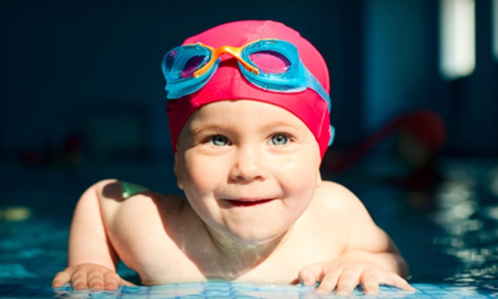 Dolphin Swim Club - Rockford: Four Weekly Baby or Semiprivate Swimming Lessons at Dolphin Swim Club in Loves Park (Up to 75% Off)