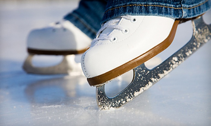 Skatetown Ice Arena - Cirby Side: $16 for an Ice-Skating Outing for Three at Skatetown Ice Arena in Roseville