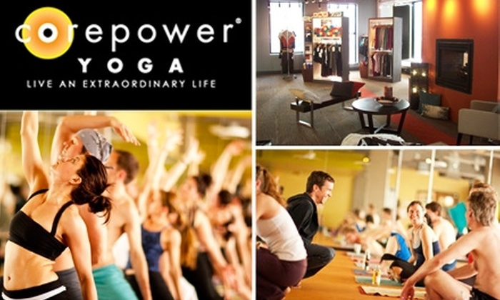 CorePower Yoga - Denver: $49 for One Month of Unlimited Classes (Plus Additional First Week of Classes Free) at CorePower Yoga ($149 Value)