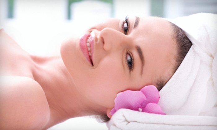 a. Salon Galleria & Spa - Cowesett: $85 for a Spa Package with Facial, Massage, Mani-Pedi, and Lip Wax at a. Salon Galleria & Spa in Coventry ($178 Value)