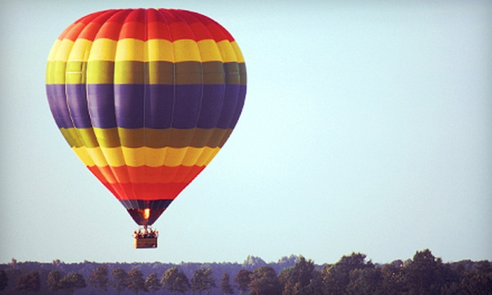Hard Times Ballooning - Summit: $299 for a Hot-Air-Balloon Ride for Two from Hard Times Ballooning in Holts Summit ($550 Value)