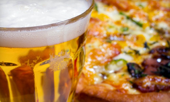City Pub Sports Bar and Grill - 15 Mile Road: Pizza Meal with Beer or $10 for $20 Worth of Bar Fare at City Pub Sports Bar and Grill in Clinton Township