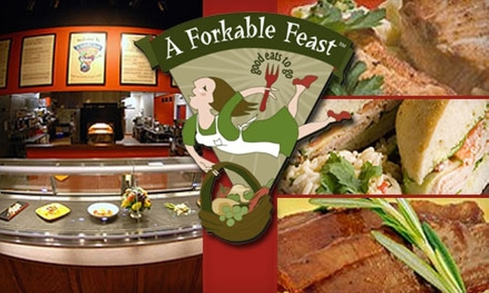 A Forkable Feast - Oakley: $10 for $20 Worth of Gourmet Take-Home Meals from A Forkable Feast