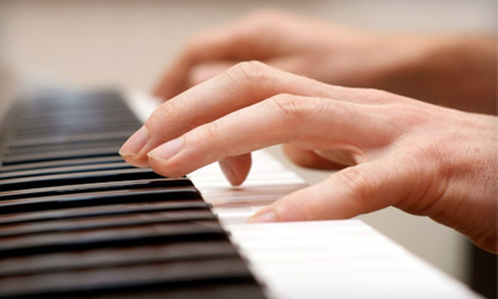 Studio Percussion - Gainesville: $25 for Two Piano, Guitar, Voice, or Drum Lessons at Studio Percussion ($60 Value)