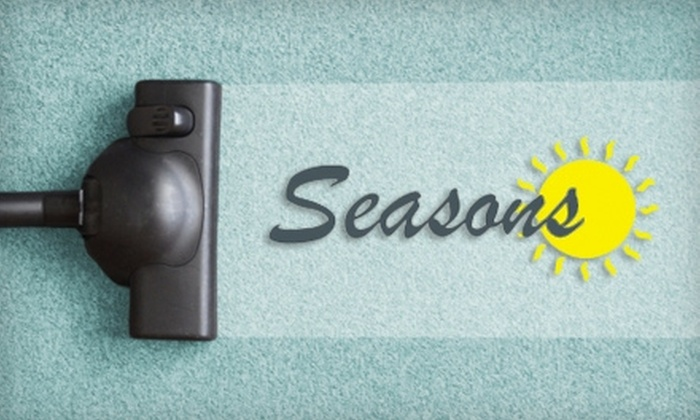 Seasons Carpet Cleaning - Roanoke: $45 for Quick-Dry Carpet Cleaning for Three Rooms from Seasons Carpet Cleaning