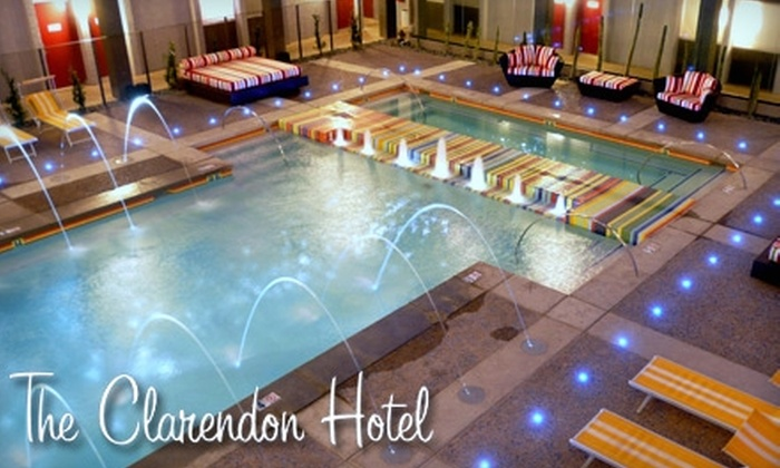 The Clarendon Hotel - Encanto: $99 for a One-Night Stay in a Junior Suite at the Clarendon Hotel ($201.06 Value)