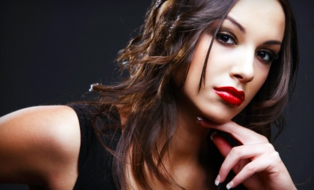 Haircut and Style (up to $75 value) - Salon Greco in Suwanee