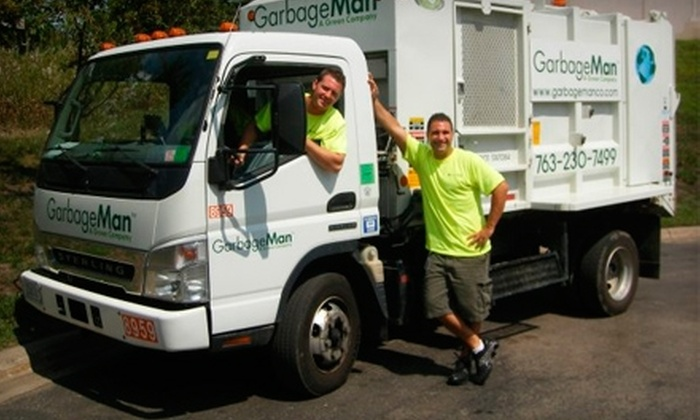 Garbage Man, A Green Company - Plymouth - Wayzata: $30 for Three Months of Waste Removal from Garbage Man, A Green Company (Up to $63 Value)