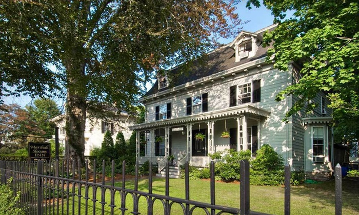 Marshall Slocum Guest House - Newport: One-Night Stay for Two with Bike Rental and Dinner Credit at Marshall Slocum House in Newport, RI