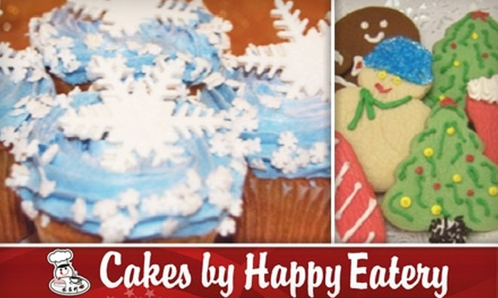 Cakes by Happy Eatery - Multiple Locations: $10 for $20 Worth of Holiday Treats and Pastries at Cakes by Happy Eatery