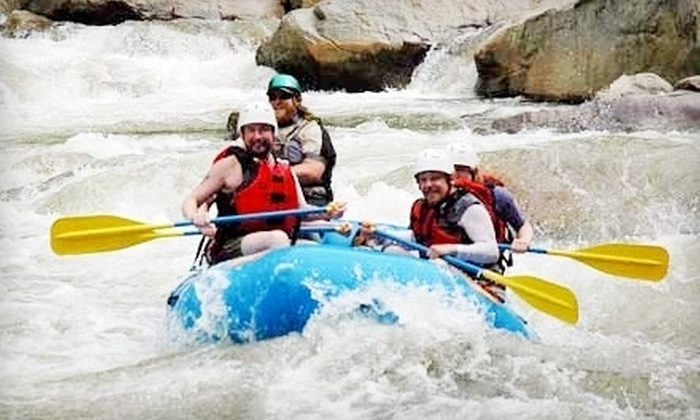 Wahoo's Adventures - Hunter: $50 for a Watauga River Rafting Trip from Wahoo's Adventures in Elizabethton (an $80 Value)