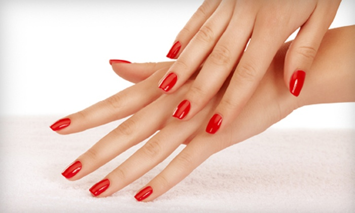 Aglow Spa & Aesthetics - Southcrest: $20 for an Express Mani-Pedi with Paraffin Hand Treatment at Aglow Spa & Aesthetics ($45 Value)