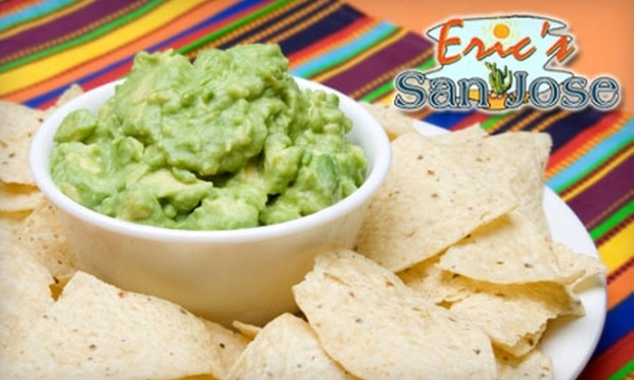 Eric's San Jose Mexican Restaurant - Southeastern Columbia: $12 for $25 Worth of Traditional Mexican Fare and Drinks at Eric's San Jose Mexican Restaurant