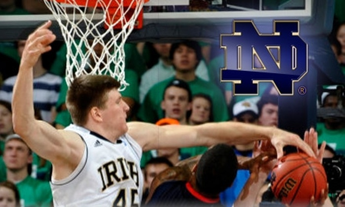 Notre Dame Sports Promotions - Mishawaka: Tickets to December 22nd Notre Dame Men's Basketball Game. Choose From Two Seating Options.