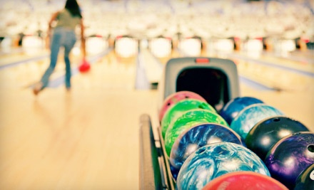 Bowling Package for 2 with 3 Games of Bowling, Shoe Rental, One 6-Slice Cheese Pizza, and 1 Pitcher of Soda - Sheffield Lanes in Aliquippa