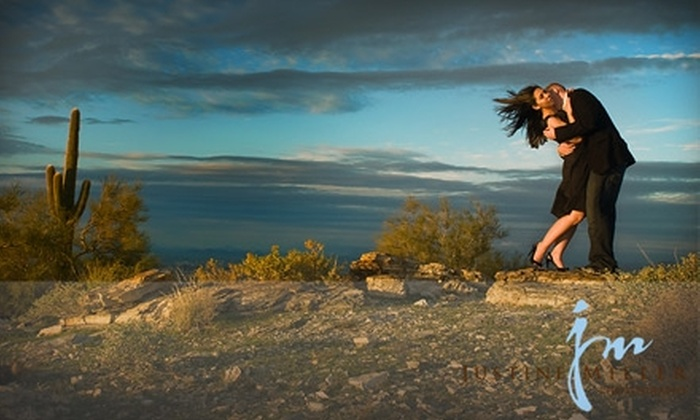 Justine Miller Photography - Mesa: $65 for Portrait Sitting and Prints from Justine Miller Photography in Mesa ($455 Value)