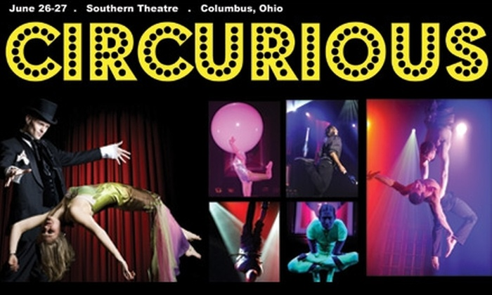 "Cirque-tacular Entertainment - Downtown Columbus: $20 for One Premium Orchestra-Section Ticket to Cirque-tacular's ""Circurious"" ($42.50 Value). Two Dates and Times Available."