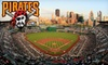 Pittsburgh Pirates - Northshore: Tickets to a Pittsburgh Pirates Game with No Additional Fees. Fifteen Dates Available.