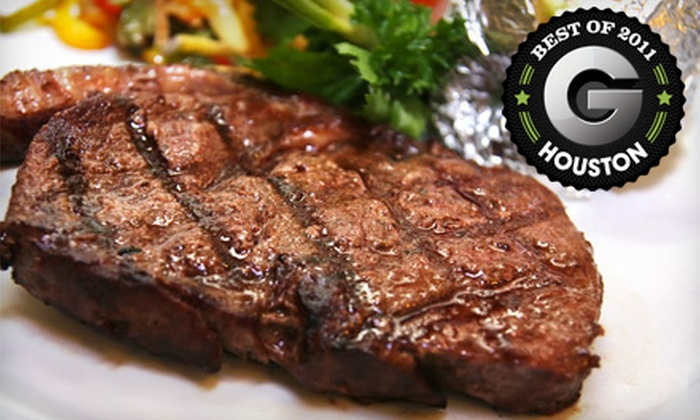 Angus Grill Brazilian Steakhouse - Great Uptown: All-You-Can-Eat Dinner for Two, Four, or Six at Angus Grill Brazilian Steakhouse (Half Off)
