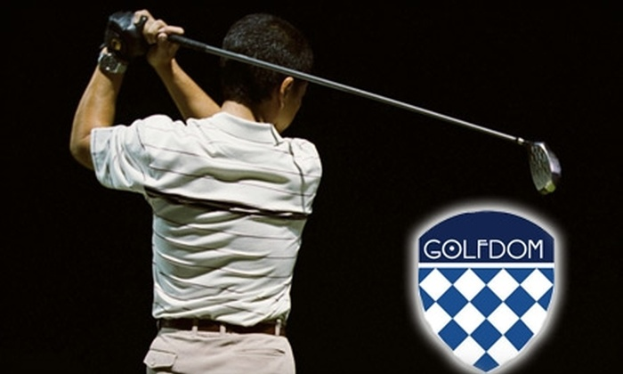 Golfdom - Tysons Corner: $40 for a Custom Club Analysis in the Callaway Golf Performance Center at Golfdom in McLean ($100 Value)