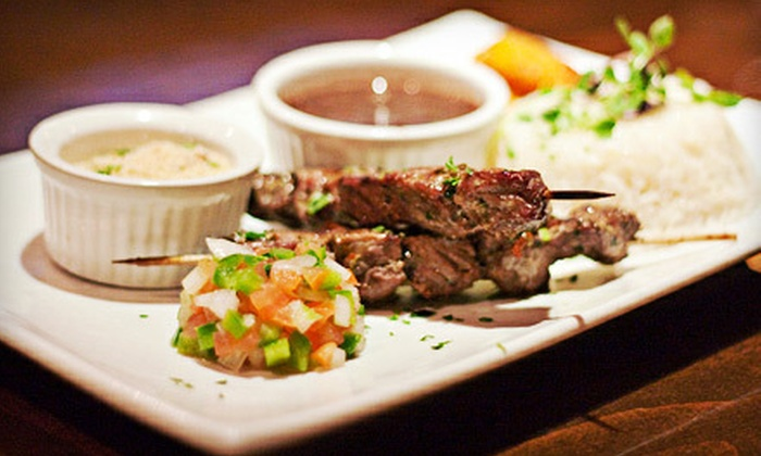 Boteco - Alhambra: Brazilian Tapas for Two or Four or Three-Course Meal for Two or Four at Boteco in Alhambra (Up to 57% Off)