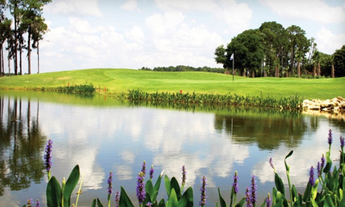 Crane's Bend at Orange Lake Resort - Citrus Ridge: One-Day Unlimited Golf Package for One or Two at Crane's Bend at Orange Lake Resort in Kissimmee (Up to 73% Off)