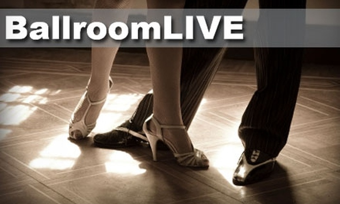 BallroomLIVE - Hoover: $15 for Three Group Dance Lessons at BallroomLIVE