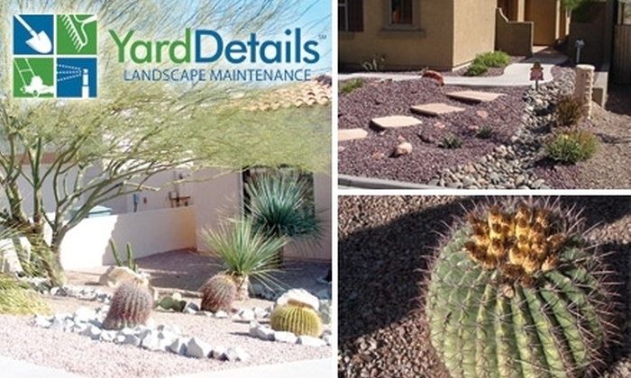 Yard Details - Tucson: $32 for $65 Worth of Express Front-Yard Weed Removal by Yard Details