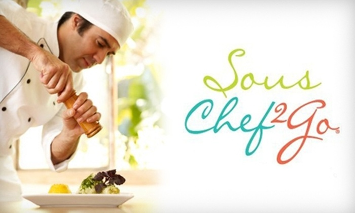 Sous Chef 2 Go - North Miami Beach: $20 for a Bagged Meal to Serve Two from Sous Chef 2 Go (Up to $55 Value)