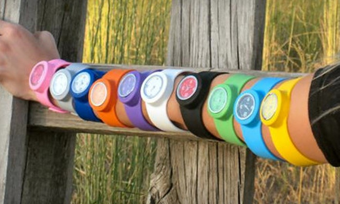 Slapper Watches: $20 for Two Watches of Any Color from Slapper Watches ($43.99 Value)