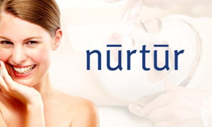 Nurtur the Salon - The University: $42 Mani-Pedi, Facial, and Chair Massage at Nurtur the Salon (Up to $115 Value)