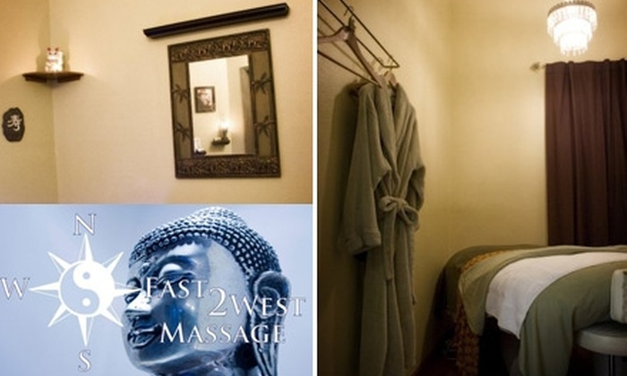 East2West Massage - Arden - Arcade: $32 for a 60-Minute Hawaiian Lomi Lomi Massage at East2West Massage ($75 Value)