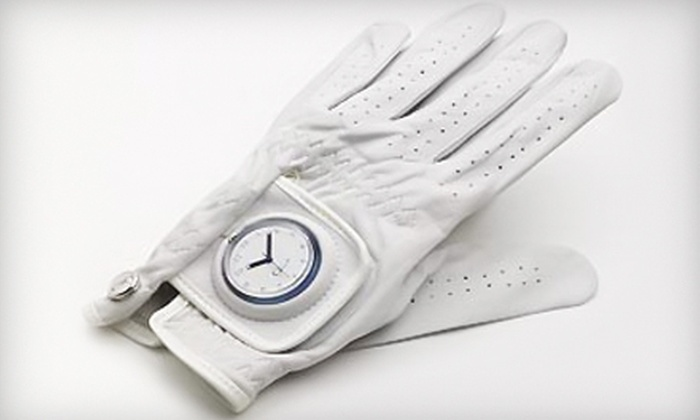 Glove Time: $22 for Golf-Glove Watch from Glove Time ($46.94 Value)