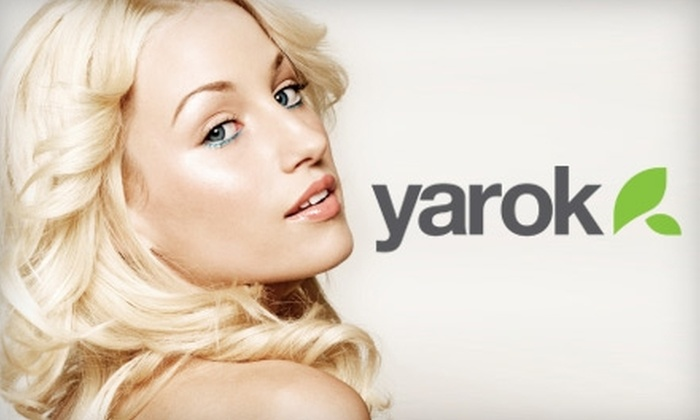 Yarok - Flatiron District: $79 for a Hair Treatment, Scalp Massage, and Blowout at Yarok The Hair Kitchen ($175 Value)