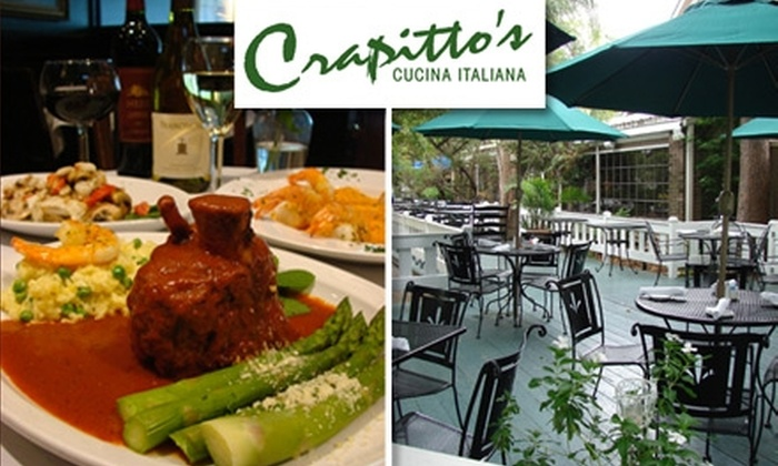 Crapitto's Cucina Italiana - Afton Oaks/ River Oaks: $20 for $40 Worth of Authentic Italian Fare at Crapitto's Cucina Italiana