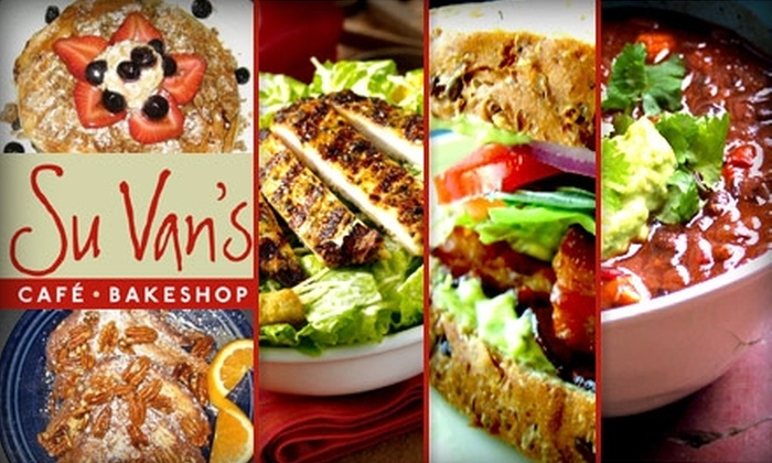 Su Van's Cafe - Lakeview: $10 for $20 Worth of Sandwiches, Soups, and Salads at Su Van's Café