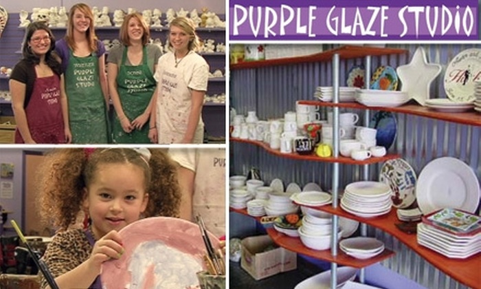 purple glaze studio coupons