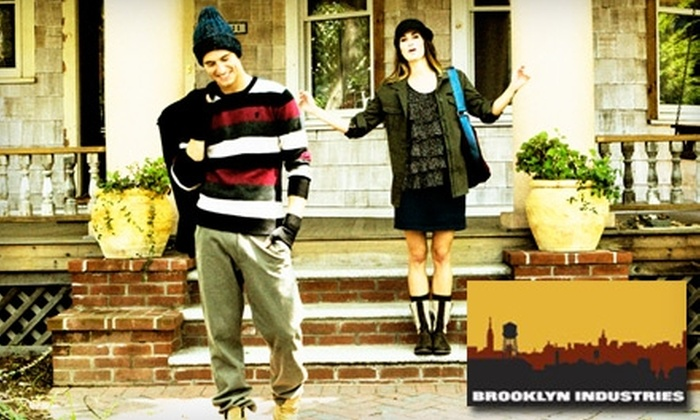 Brooklyn Industries Chicago - Wicker Park: $20 for $40 Worth of Apparel and Accessories at Brooklyn Industries